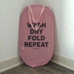 NEW Victoria's Secret PINK laundry hamper